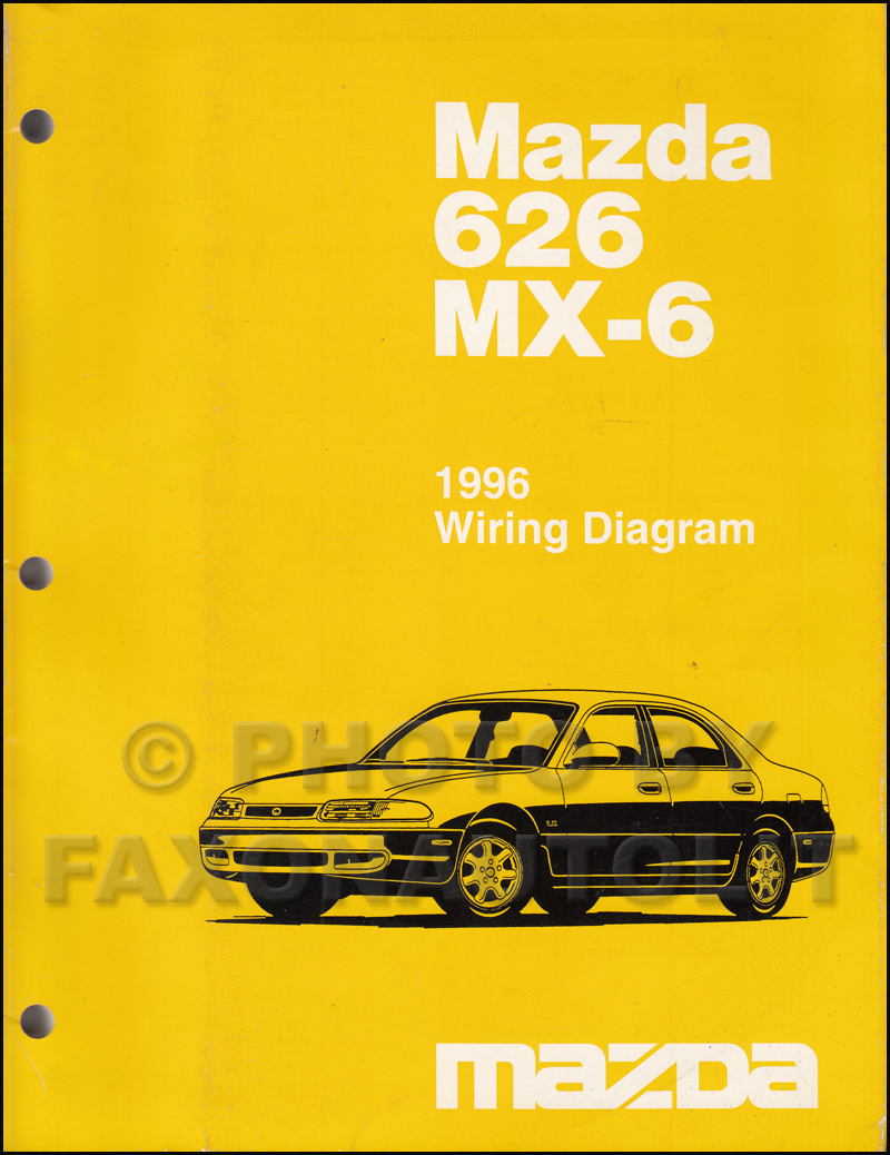 Mazda 626 Workshop Manual Pdf Miata Wiring Diagram Mx 6 1994 Service Repair