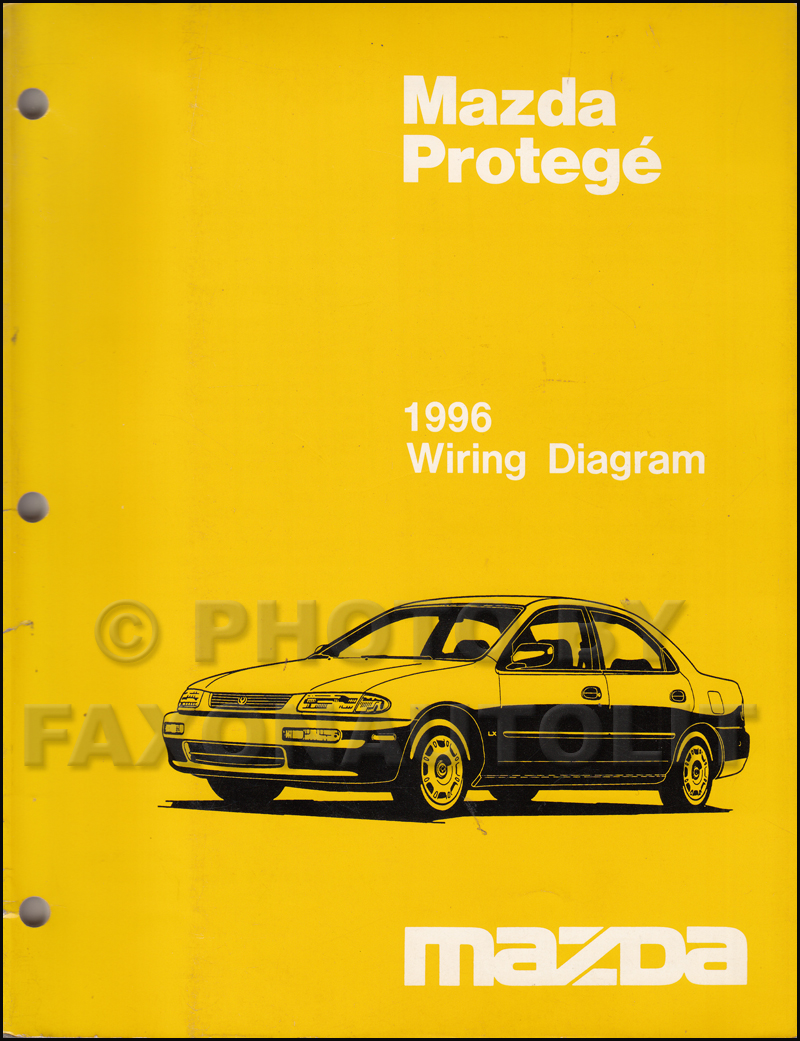1996 mazda protege wiring diagram manual original rh faxonautoliterature com 2002 mazda protege 5 stereo wiring diagram 2002 mazda protege ignition wiring diagram