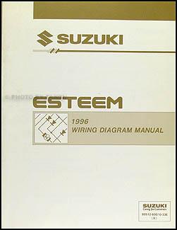 1996    Suzuki       Esteem       Wiring       Diagram    Manual Original