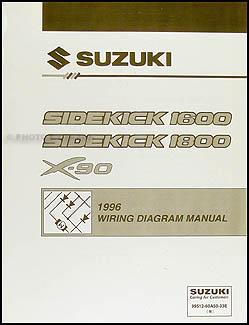 1996    Suzuki       Sidekick    Sport 1800 Repair Shop Manual