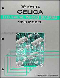 1996 Toyota Celica Wiring Diagram Manual Original