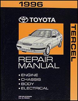 1996 toyota tercel repair shop manual original rh faxonautoliterature com Pioneer Car Stereo Wiring Diagram Pioneer Car Stereo Wiring Diagram