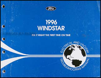 1996-1997 Ford Windstar Electrical and Vacuum Troubleshooting Manual