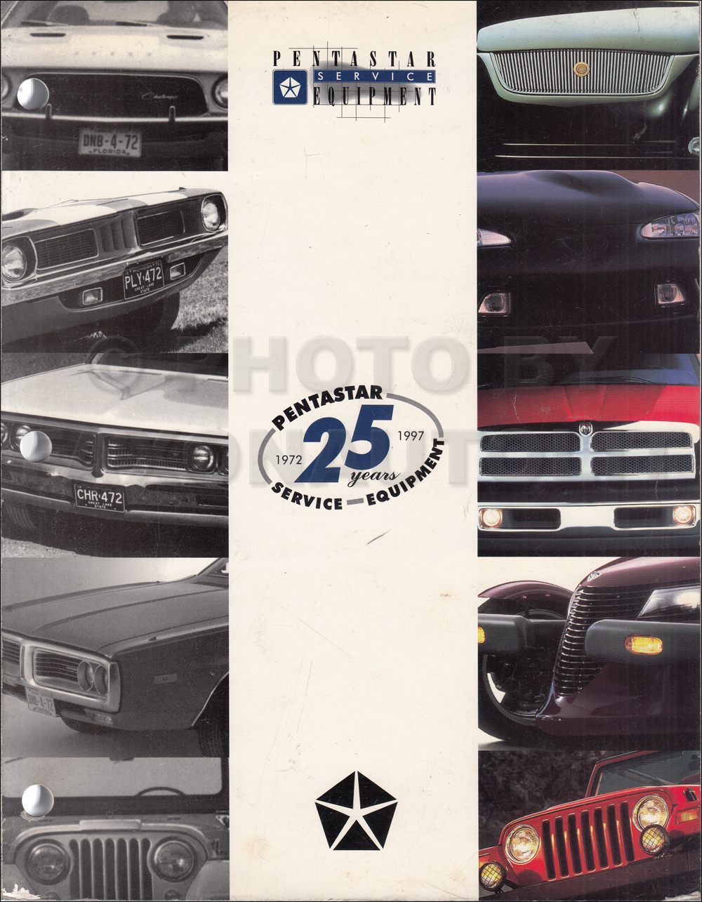 1997-1998 Mopar Service Equipment Catalog Original