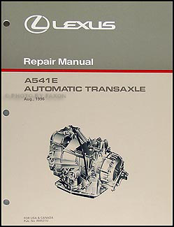 lexus es wiring diagram manual original 1997 1998 lexus es 300 automatic transaxle overhaul manual original