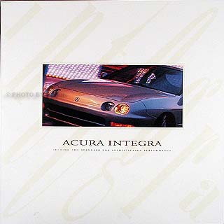 1997 Acura Integra on 1997 Acura Integra Prestige Original Sales Catalog Rs Ls Gs Gs R