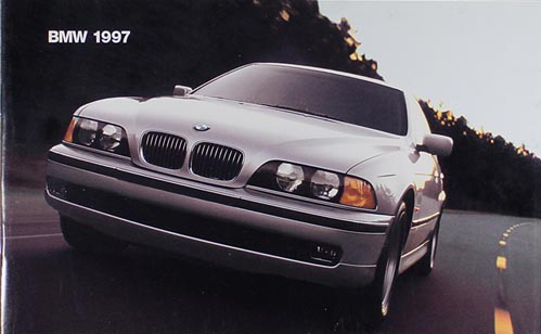 1997 bmw sales catalog 97 m3 z3 850ci 840ci 750il 740il. Black Bedroom Furniture Sets. Home Design Ideas