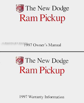 1997 dodge ram truck repair shop manual original 1500 2500. Black Bedroom Furniture Sets. Home Design Ideas