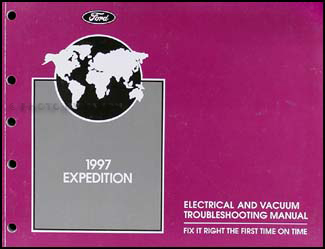 1997 Ford Expedition Electrical & Vacuum Troubleshooting Manual