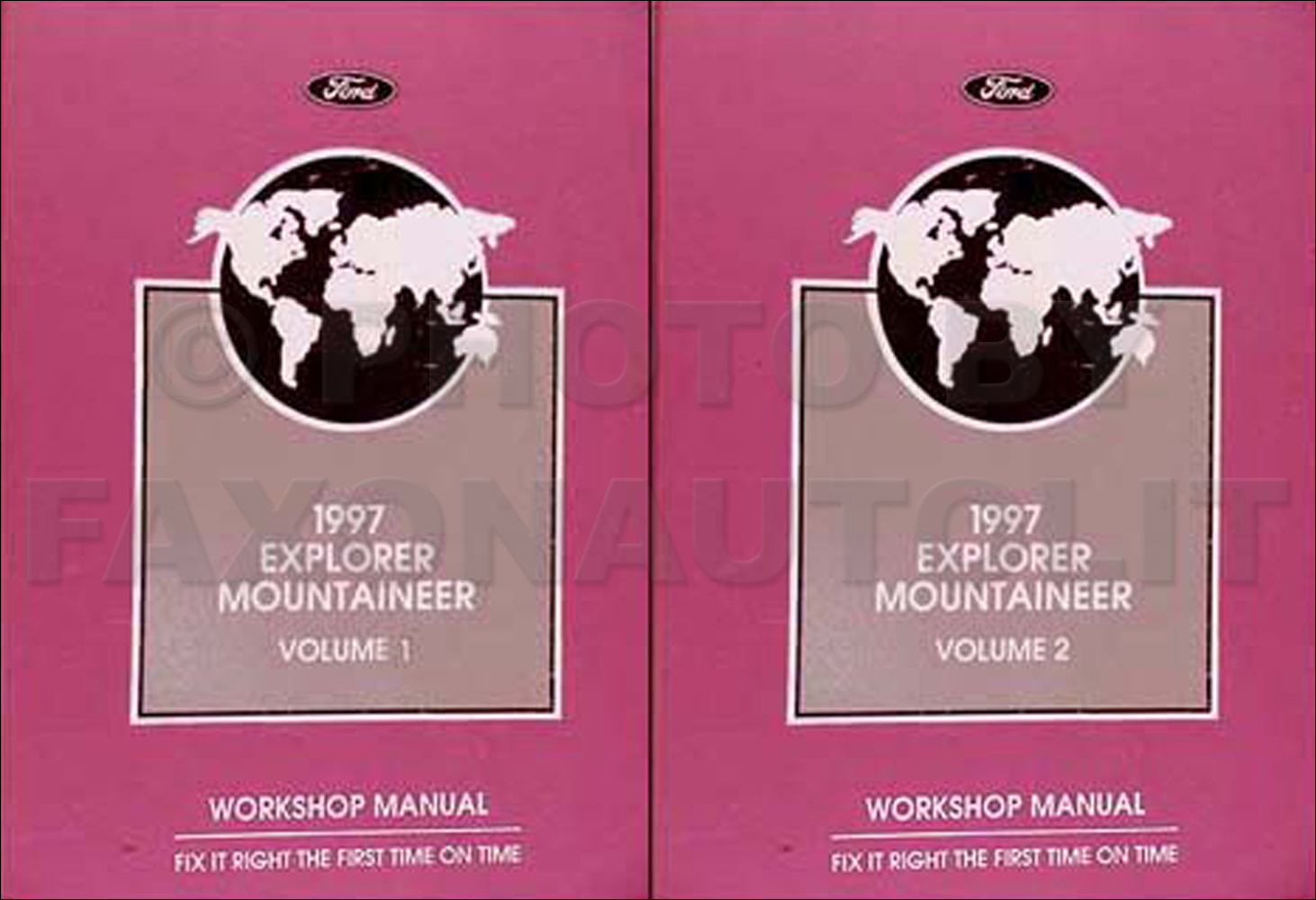 1997 Ford Explorer Mercury Mountaineer Electrical Troubleshooting Manual