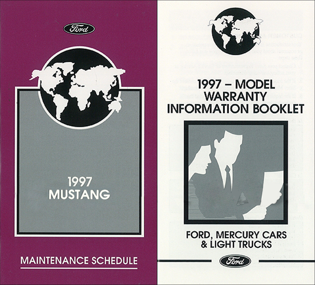 ford mustang owners manual   maintenance