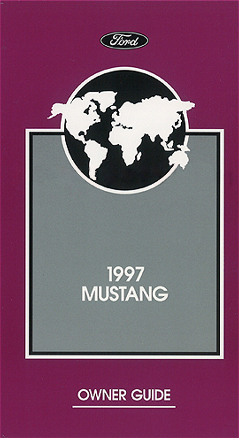 1997 Ford Mustang Owners Manual Original with Maintenance Schedule and  Warranty