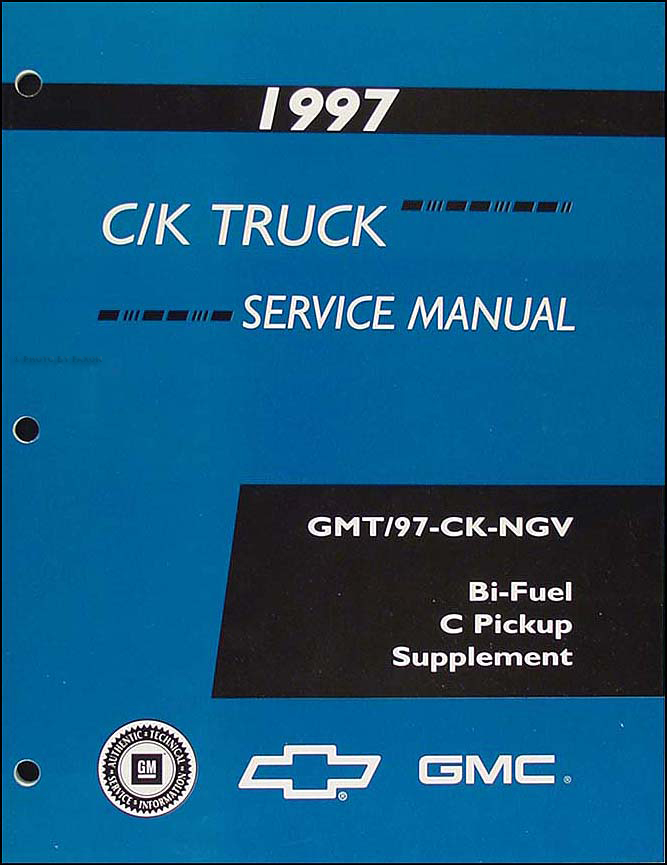 1997 C  K Truck Repair Shop Manual Original Set Pickup