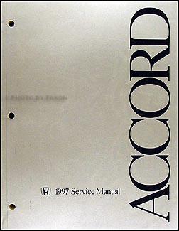 1997 honda accord repair shop manual original rh faxonautoliterature com 1990 Honda Accord 91 Honda Accord Repair Manual Lights