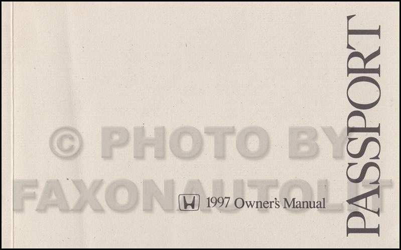 search rh faxonautoliterature com 2000 Honda Passport 2005 Honda Passport