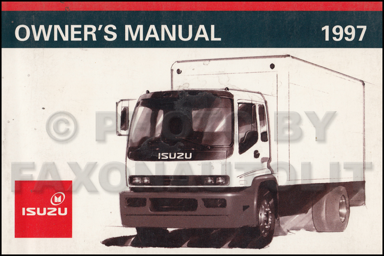 1997 Fsr  Ftr  Fvr  W6  W7 Truck Repair Shop Manual