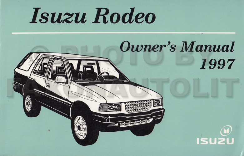Isuzu Rodeo Owners Manual