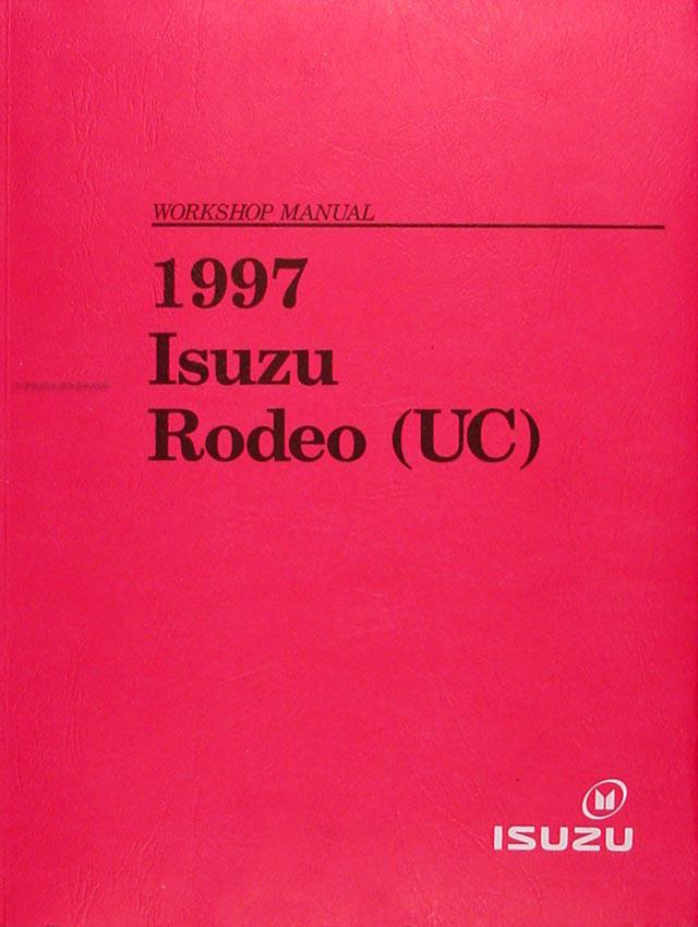 1997 isuzu rodeo honda passport repair shop manual original rh faxonautoliterature com 2008 Honda Passport 2013 Honda Passport