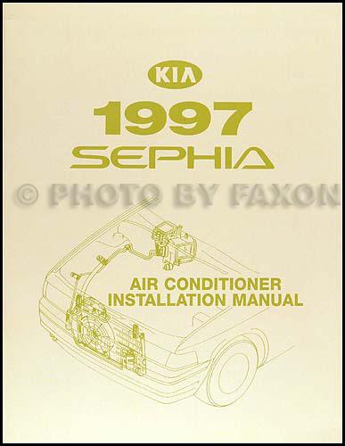 2001 Kia Sephia Car Audio Install Manual Guide