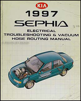 1997 Kia Sephia Electrical Troubleshooting Vacuum Hose Routing Manual