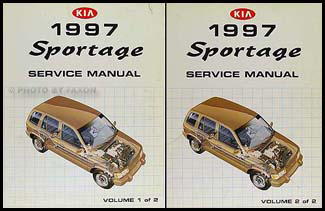 1997 kia sportage repair shop manual 2 volume set original 1997 kia sportage repair manual 2 volume set original asfbconference2016 Image collections