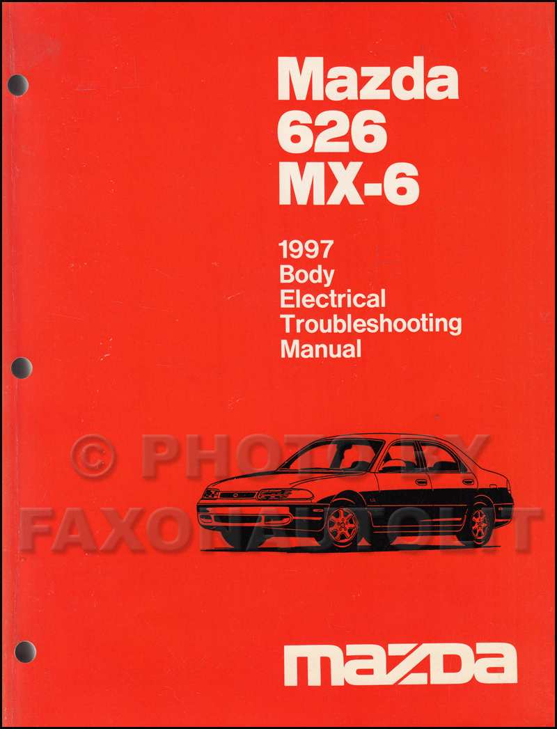 1997 Mazda 626 and MX-6 Body Electrical Troubleshooting Manual Original.  1994 Mazda Pickup Truck Repair Manual Original B2300 B3000 B4000