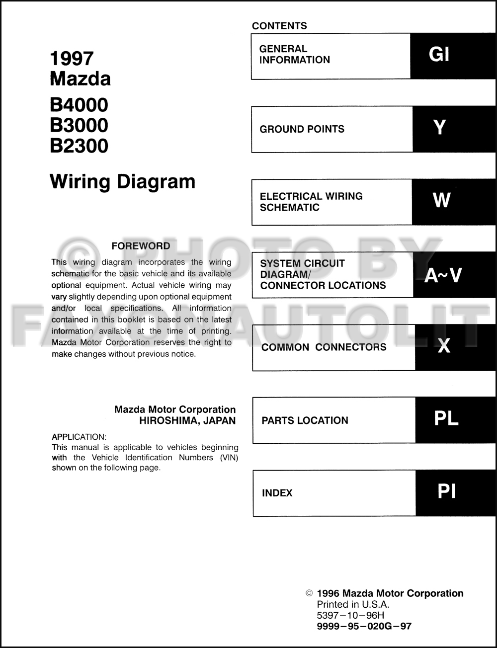 2001 Mazda B4000 Fuse Box Diagram Wiring Library 2002 Saturn Vue Schematic 1997 B2300 Diy Diagrams U2022 Millenia Engine