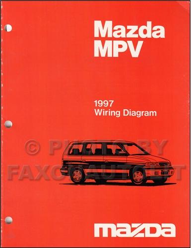 1997 mazda mpv wiring diagram 1997 mazda mpv engine diagram 1997 mazda mpv repair shop manual original