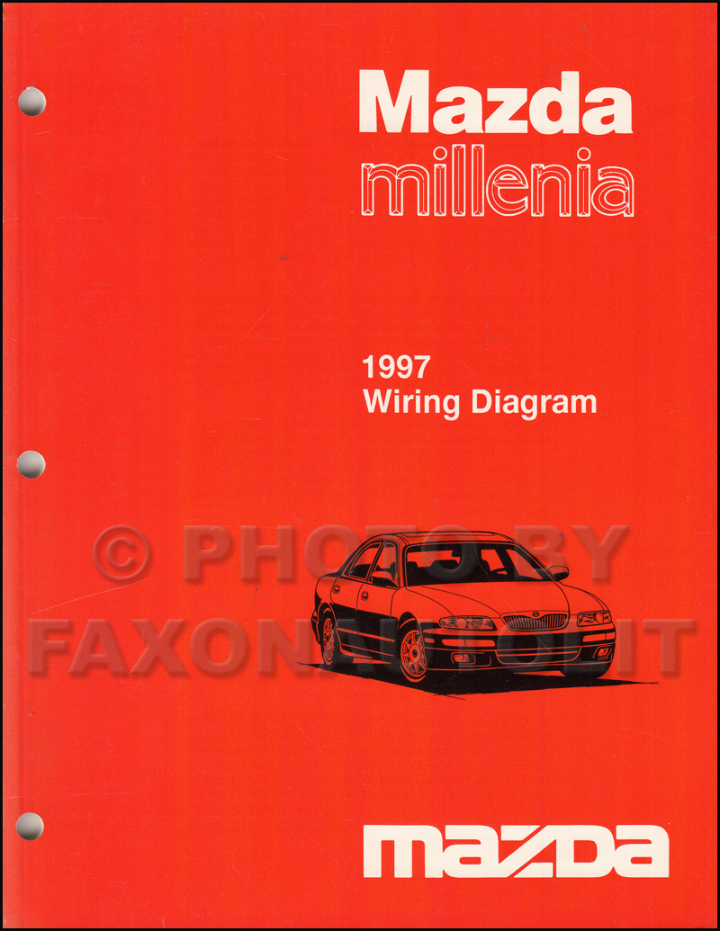 1997MazdaMilleniaOWD 1997 mazda millenia repair shop manual original,1996 Mazda Millenia Wiring Diagrams