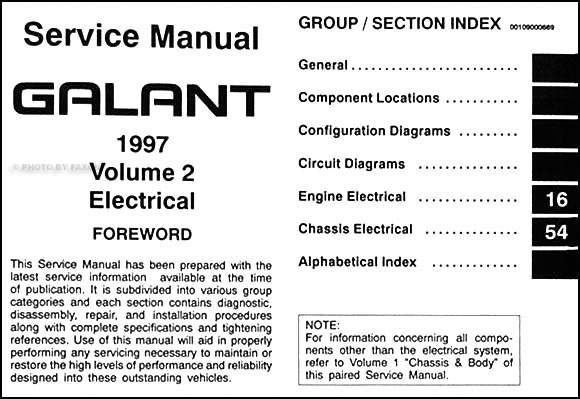 1997 mitsubishi galant repair shop manual set original on wiring diagram mitsubishi galant 2001 2001 Mitsubishi Galant Radio Fuse 2001 Mitsubishi Galant Sensors