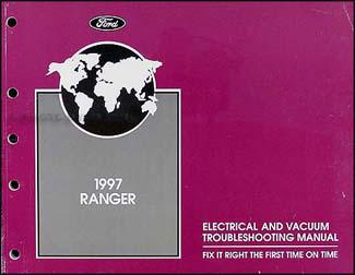 ford ranger electrical troubleshooting manual  wiring diagram book oem ebay