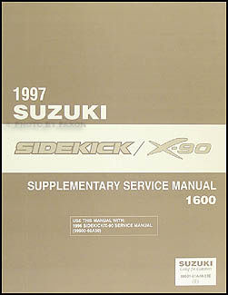 1997 suzuki sidekick repair manual pdf