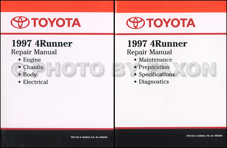 1997 Toyota 4runner Cruise Control Repair Shop Manual