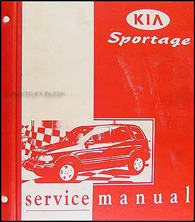 1998 2000 kia sportage repair shop manual original rh faxonautoliterature com kia sportage owners manual 2016 kia sportage owners manual 2017