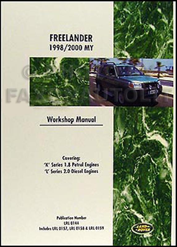 Ac Repair Manual 2004 Land Rover Freelander
