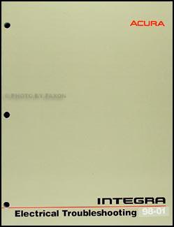 1998-2001 Acura Integra Electrical Troubleshooting Manual Original