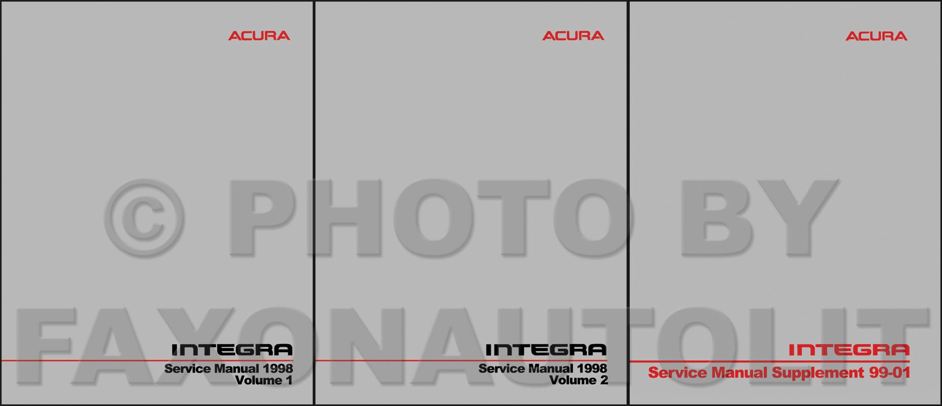 1998 Acura Integra Repair Manual Peretdown