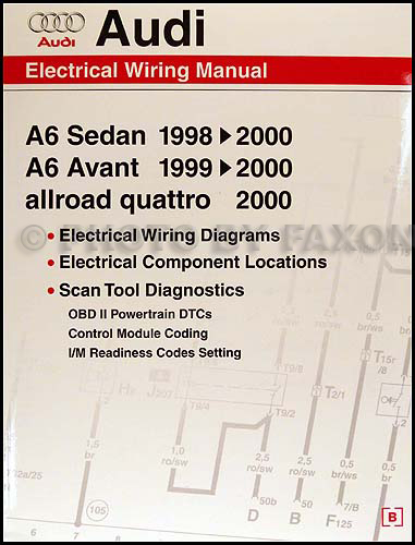 1998 2000AudiOWD 1998 2000 audi a6 wiring diagram manual 2002 audi a6 quattro 2.7t wiring diagram at edmiracle.co