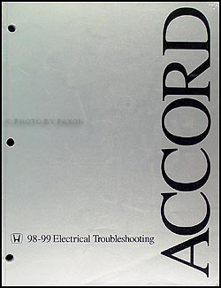 1998 2002 honda accord electrical troubleshooting manual original related items