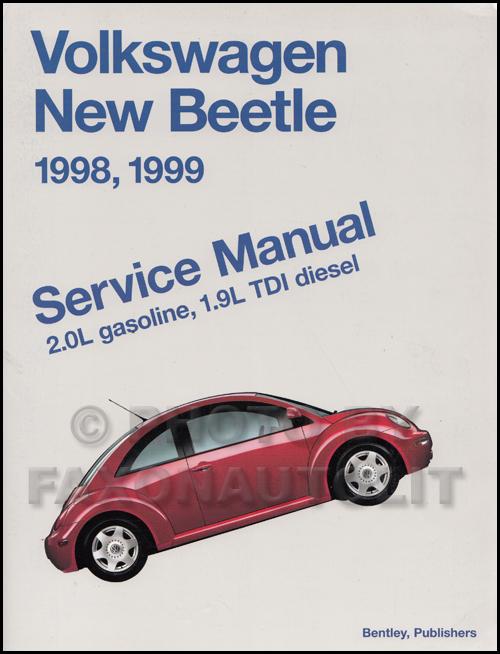 1998 1999 vw new beetle repair shop manual rh faxonautoliterature com owners manual vw new beetle service manual volkswagen new beetle