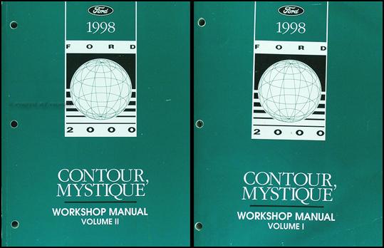 1998 ford contour mercury mystique electrical. Black Bedroom Furniture Sets. Home Design Ideas