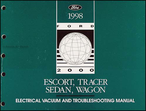 1998 ford escort mercury tracer electrical troubleshooting. Black Bedroom Furniture Sets. Home Design Ideas