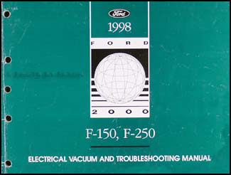 1998 Ford F150 F250 Electrical Troubleshooting Manual ...