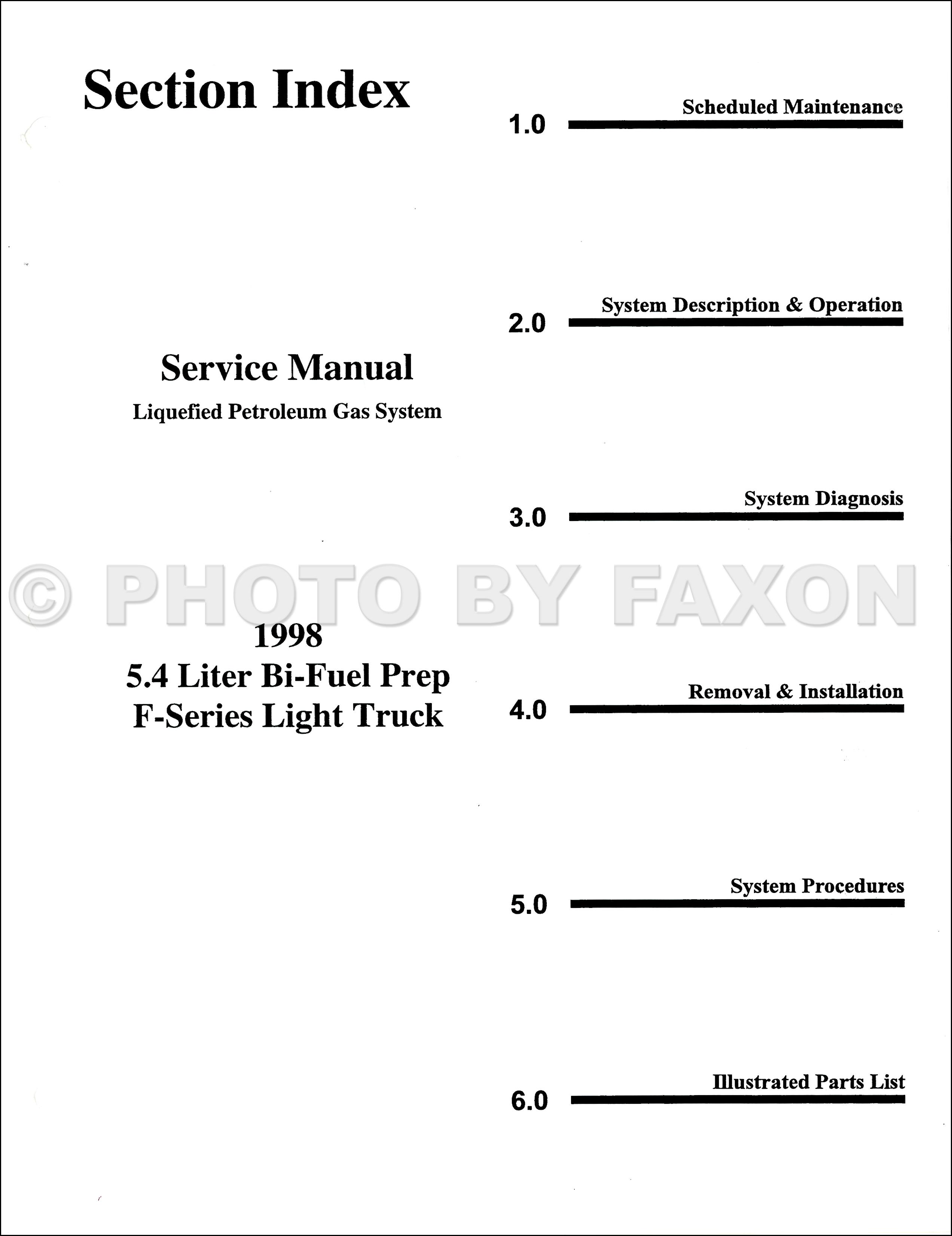 Lpg Wiring Diagram Ford 5 4 Liter Engine 1998 F150 F250 54l Bi Fuel
