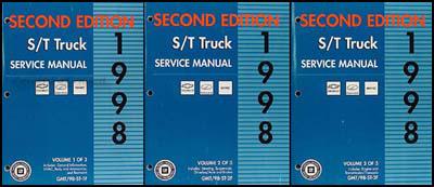 1998 s 10 sonoma jimmy blazer envoy bravada repair shop manual set 1998 s 10 sonoma jimmy blazer envoy bravada repair shop manual set 2nd ed sciox Images