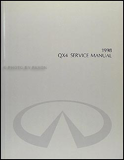 1998 infiniti qx4 repair shop manual original rh faxonautoliterature com 1999 infiniti qx4 service manual pdf 2002 infiniti qx4 service manual pdf
