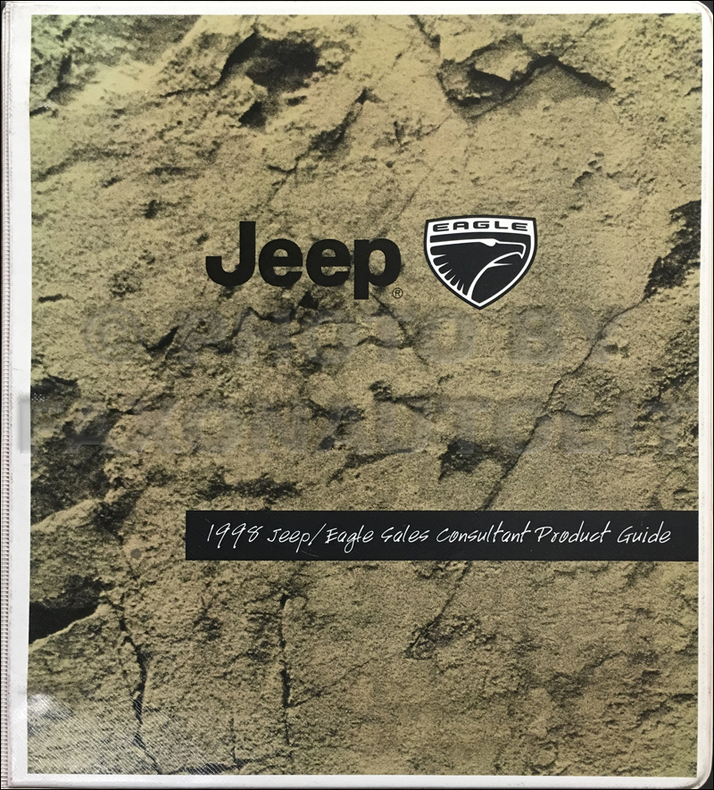 1998 Jeep and Eagle Sales Consultant Product Guide Original