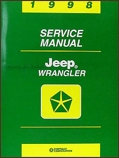 1998 Jeep Wrangler Shop Manual Original
