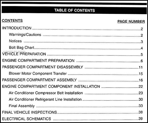 1998 kia sportage a c installation manual original rh faxonautoliterature com Vinyl Graphics Installation Guide Quick Installation Guide