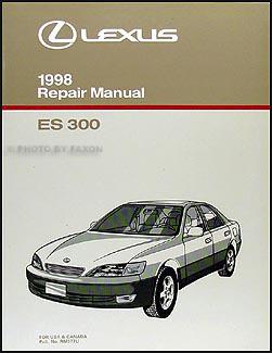 1998 lexus es 300 wiring diagram manual original 1998 lexus es 300 repair shop manual original 119 00